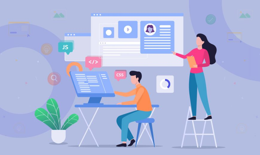 Redesign A Company Website